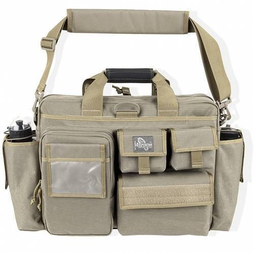 Тактическая сумка Maxpedition Aggressor Tactical Attache Khaki