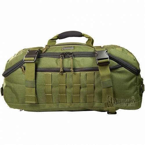 Дорожная сумка-рюкзак Maxpedition FliegerDuffel Adventure Bag OD Green 0613G