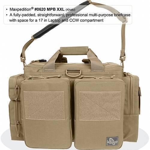 Тактическая сумка Maxpedition MPB XXL Khaki 0620K