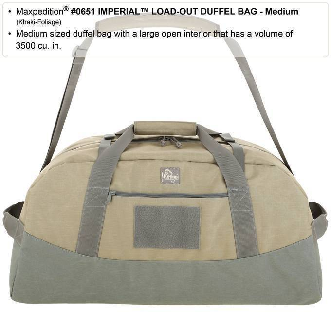 Дорожная сумка Maxpedition Imperial Load-Out Duffel Bag Khaki-Foliage