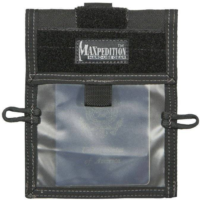 Кошелек Maxpedition Traveler Wallet Black