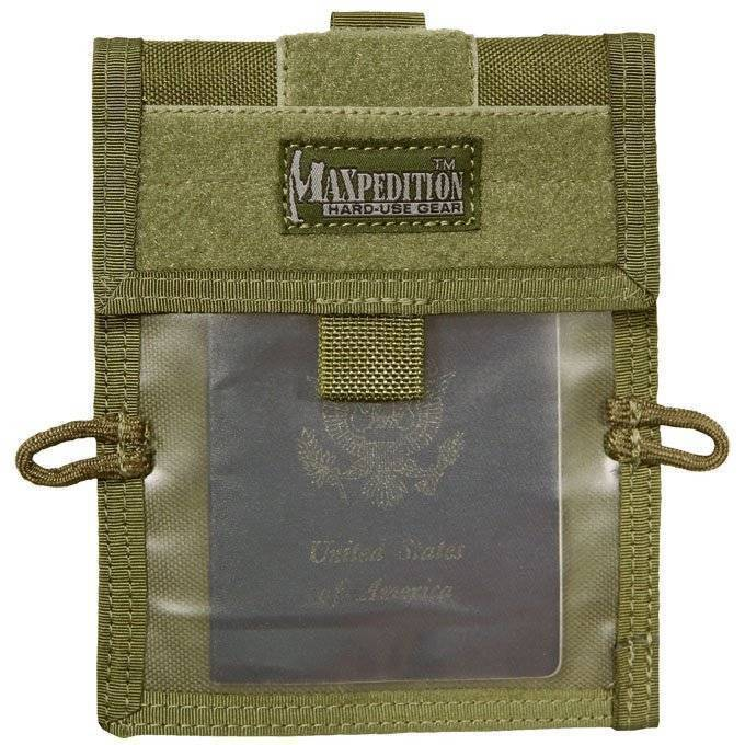 Кошелек Maxpedition Traveler Wallet OD Green