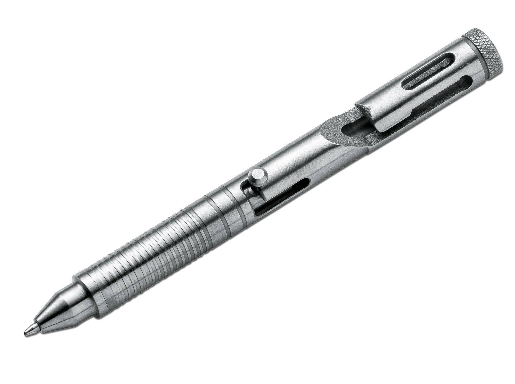 Тактическая ручка Boker Tactical Pen CID CAL .45 Titanium
