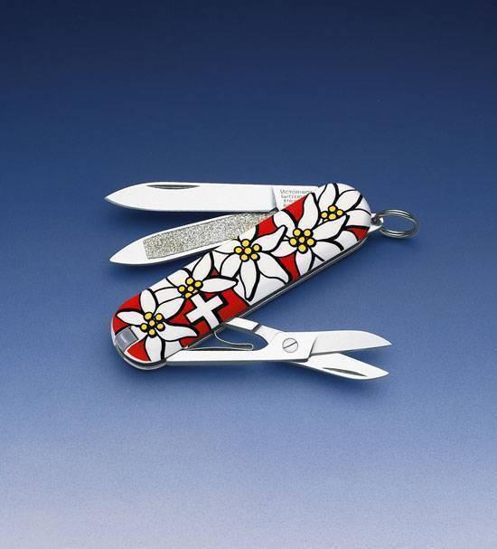 Карманный нож Victorinox Edelweiss 0.6203.840