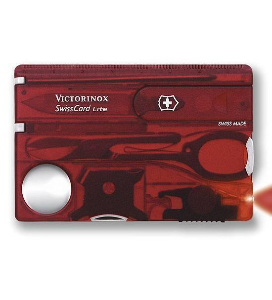 Швейцарская карточка Victorinox 0.7300.T Lite