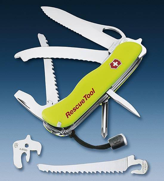 Складной нож Victorinox модель 0.8623. MN Rescue tool