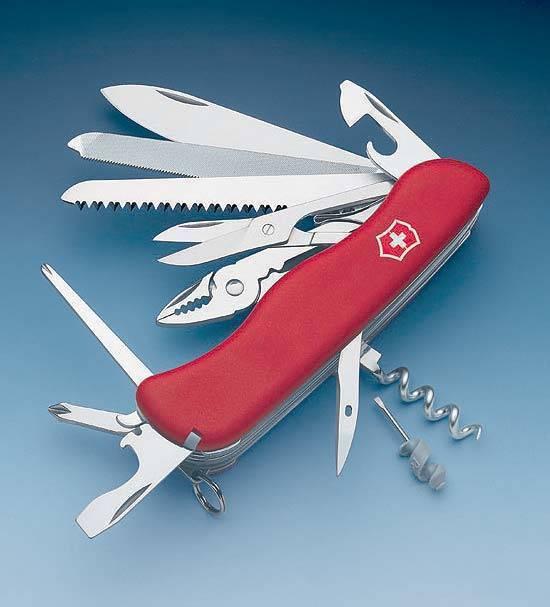 Многофункциональный нож Victorinox WorkChamp 0.9064