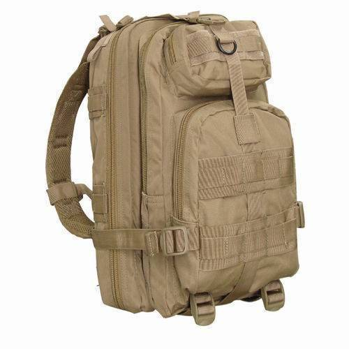 Тактический рюкзак Condor Outdoor Compact Assault Pack Desert Tan 126-003