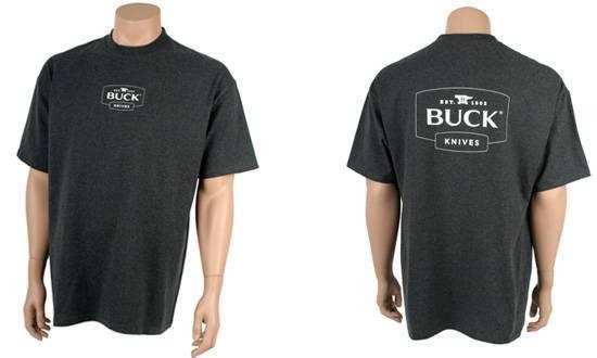 Футболка Buck серая 13014