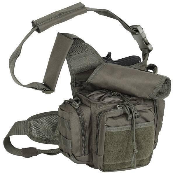 Тактическая сумка Voodoo Tactical Ergo Pack Shoulder Bag OD Green 15-9355_OD