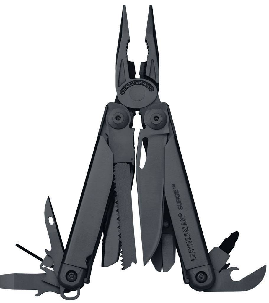 Мультитул Leatherman Surge Black (антибликовое чернение) Surge Black