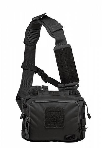 Тактическая плечевая сумка 5.11 Tactical 2-Banger Bag Black 56180-019
