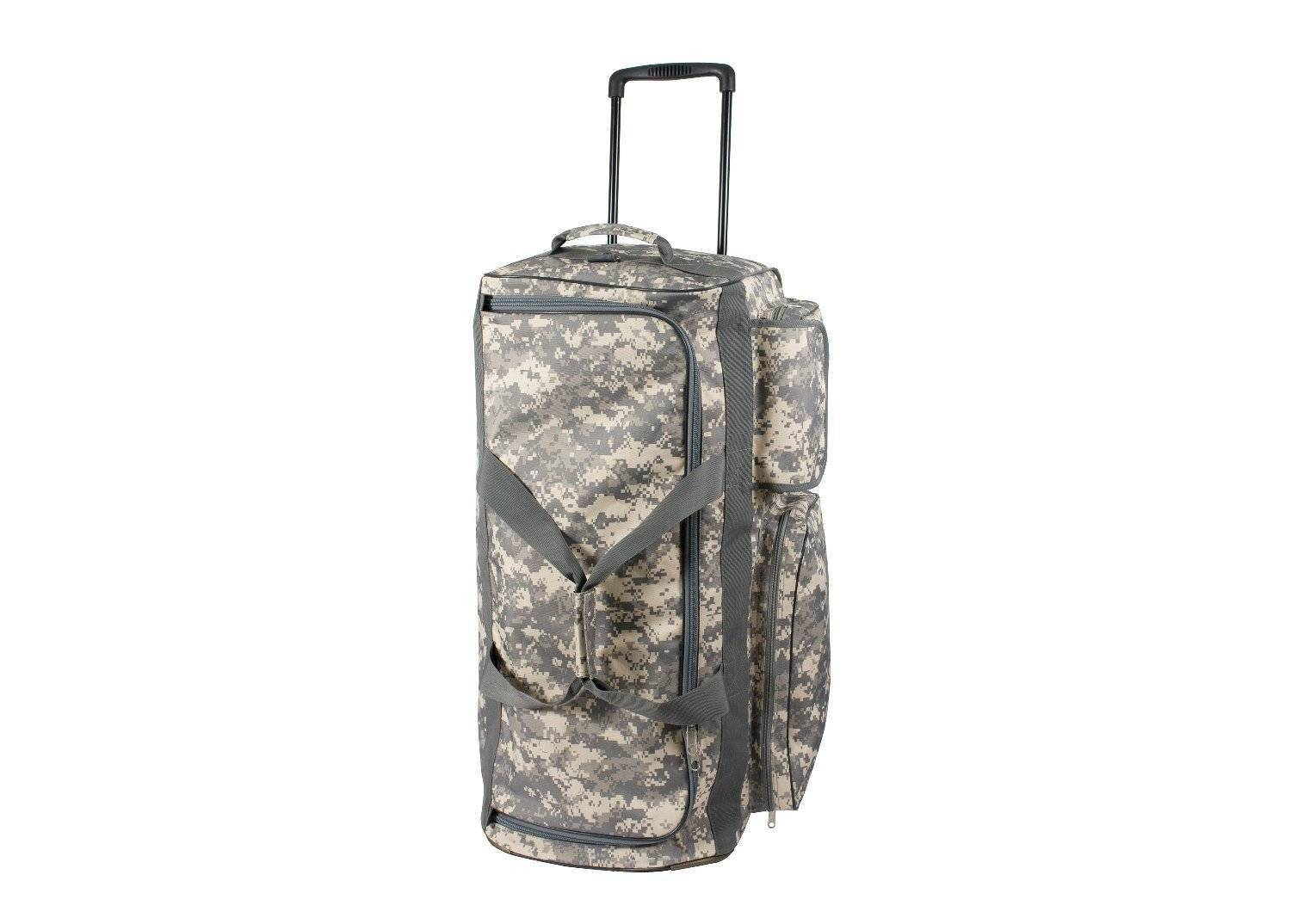 Дорожная сумка Rothco Military Expedition Wheeled Bag ACU Digital Camo 2654