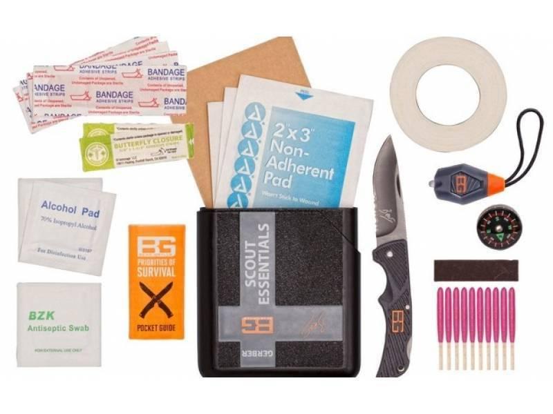 Набор выживания Gerber Bear Grylls Scout Essentials Kit 31-001078