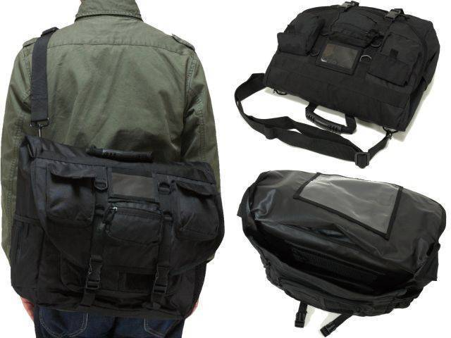 Сумка для ноутбука Rothco Lightweight Special Ops Laptop Bag Black 3141-blk