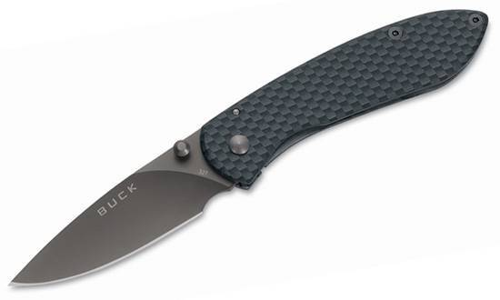 Нож BUCK модель 0327CFS Nobelman Carbon