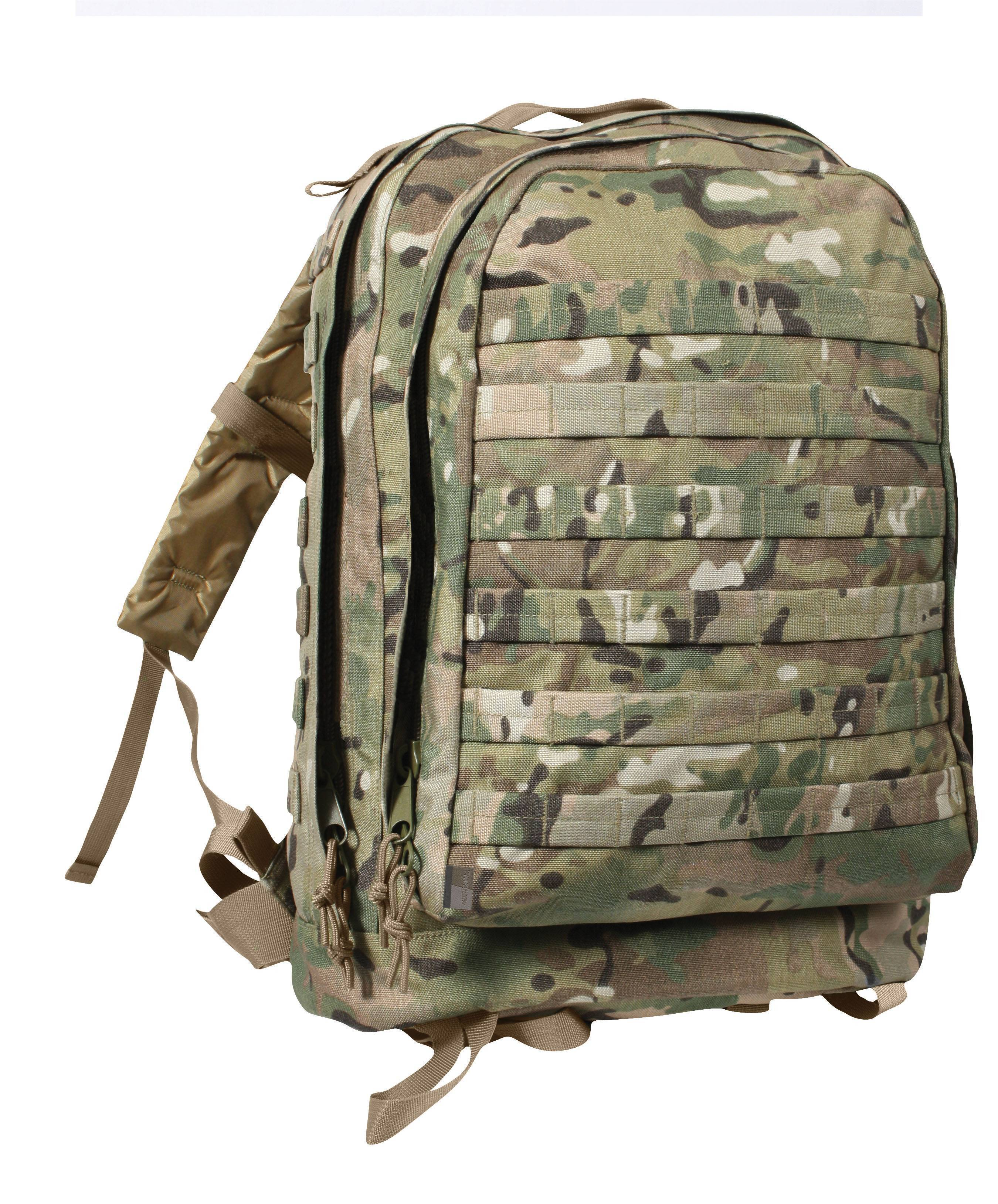 Тактический рюкзак Rothco MOLLE II 3-Day Assault Pack MultiCam 40125