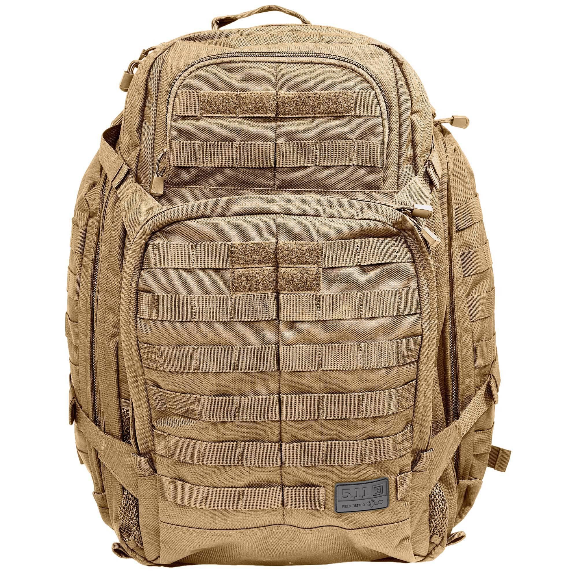 Тактический рюкзак 5.11 Tactical RUSH 72 Backpack Flat Dark Earth 58602-131