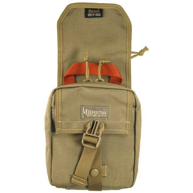 Медицинская сумка-аптечка Maxpedition F.I.G.H.T. Medical Pouch Khaki