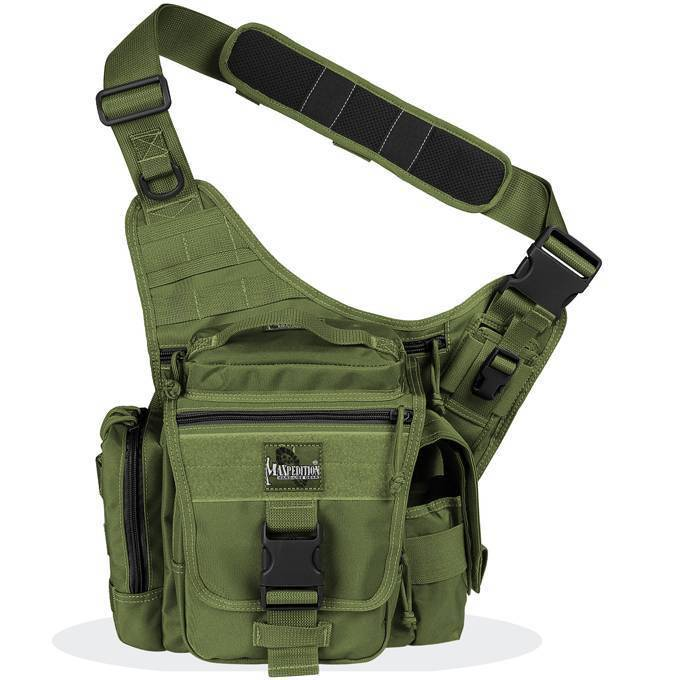 Тактическая сумка Maxpedition Jumbo L.E.O. OD Green 9846G