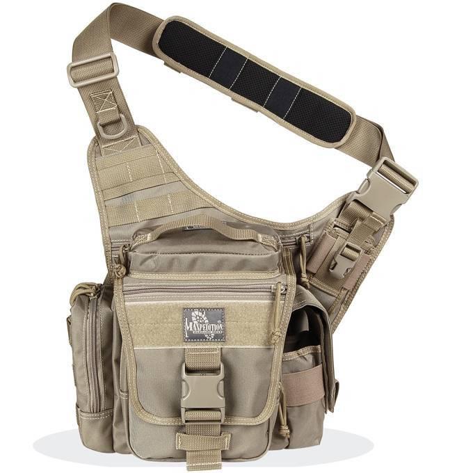 Тактическая сумка Maxpedition Jumbo L.E.O. Khaki 9846K