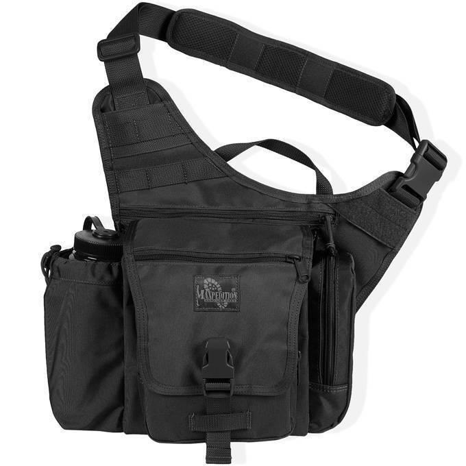 Тактическая сумка Maxpedition Jumbo K.I.S.S. Black