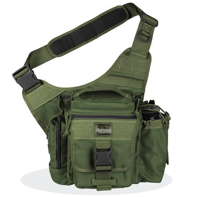 Тактическая сумка Maxpedition Jumbo E.D.C. S-type OD Green