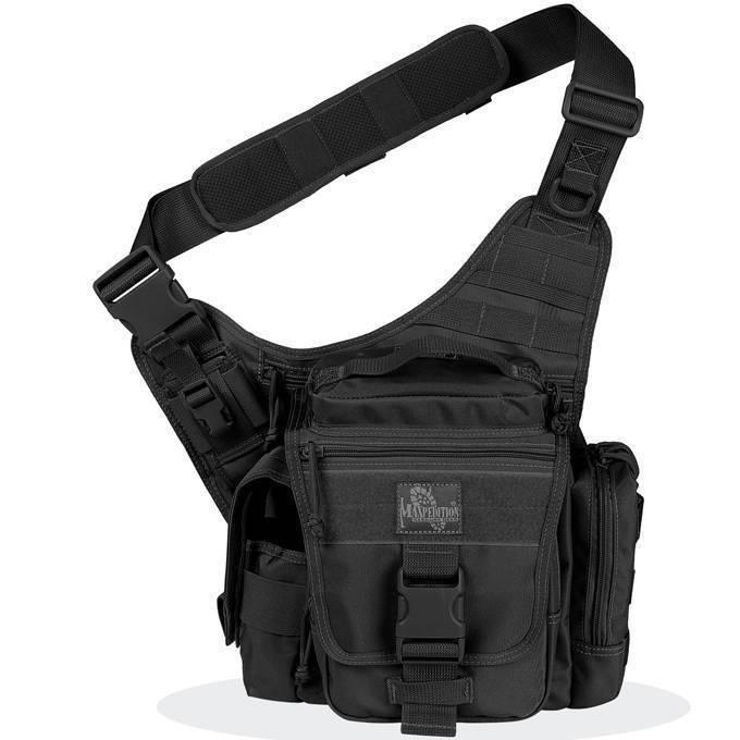 Тактическая сумка Maxpedition Jumbo L.E.O. S-type Black