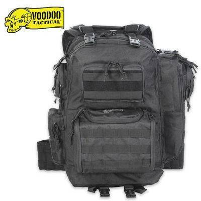 Тактический рюкзак Voodoo Tactical MATRIX Assault Pack Black 15-9032_bl