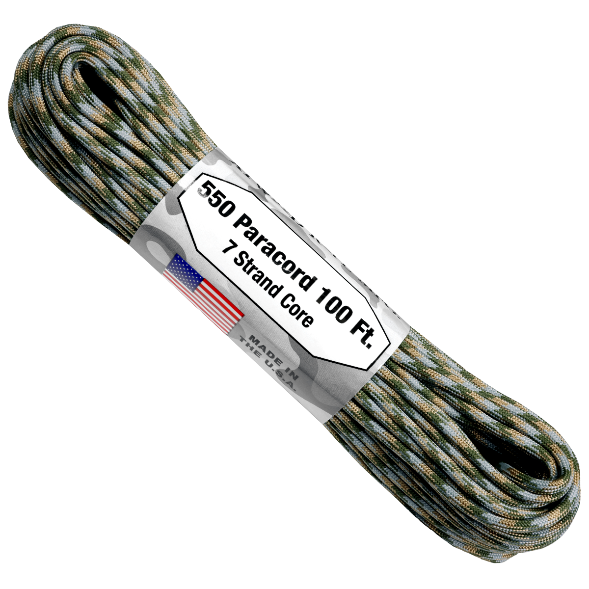 Paracord Atwood Rope MFG 550 ACU