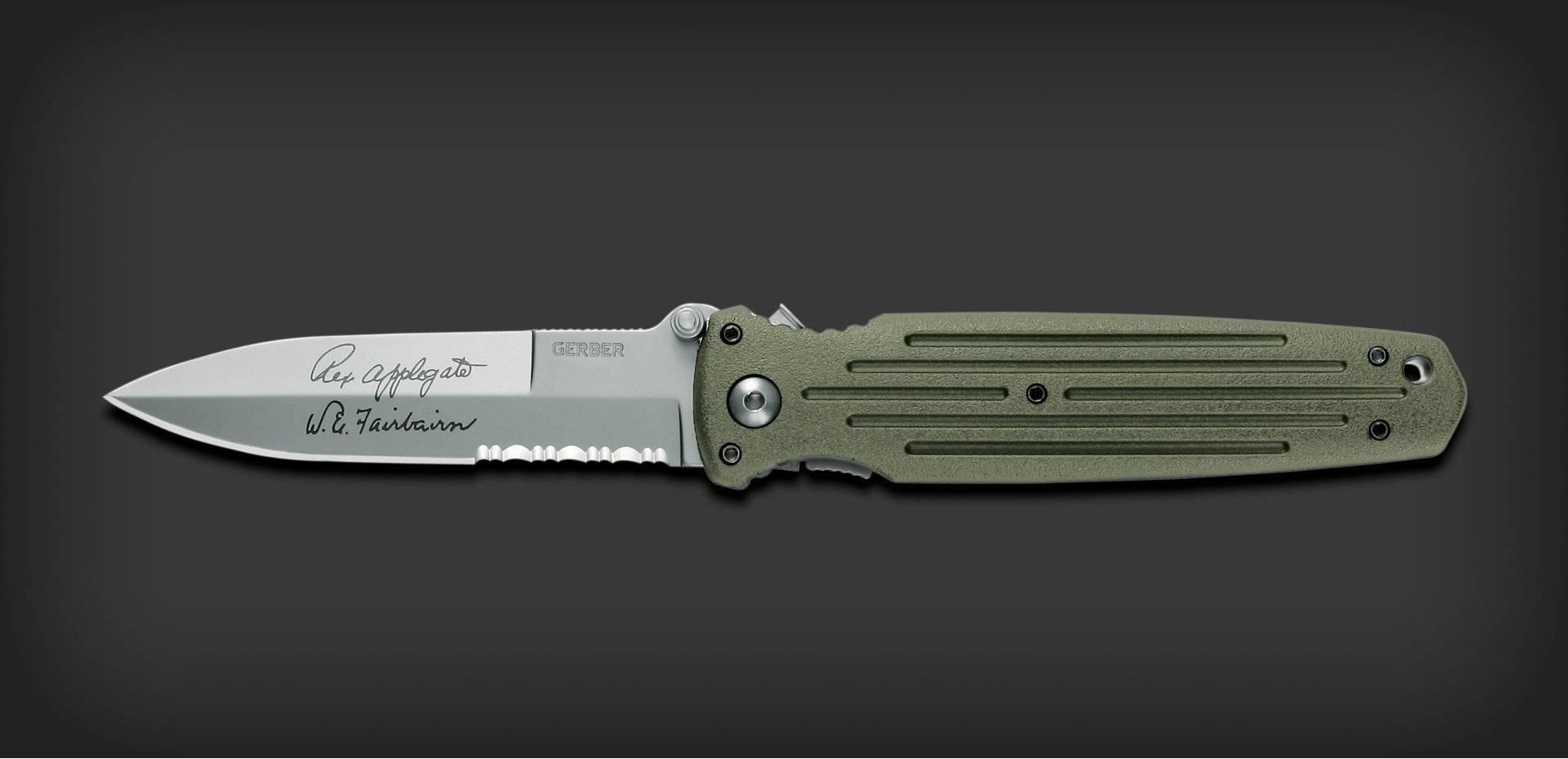 Тактический складной нож Gerber APPLEGATE COMBAT FOLDER 22-01608