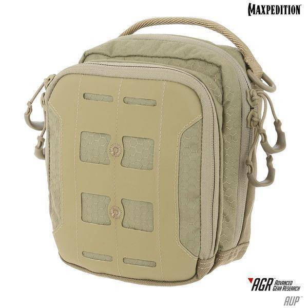 Maxpedition AUP Accordion Utility Pouch Tan