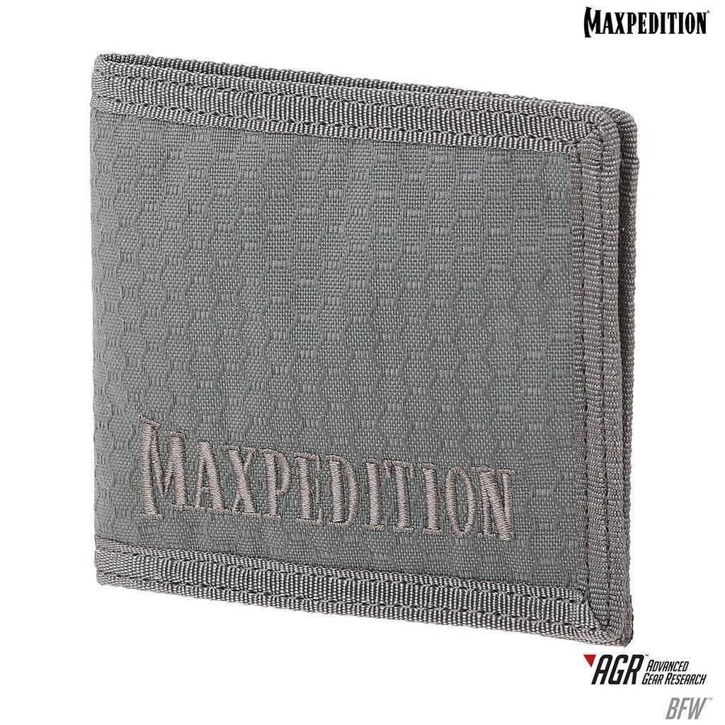 Maxpedition BFW Bi-Fold Wallet Gray