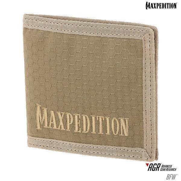 Maxpedition BFW Bi-Fold Wallet Tan