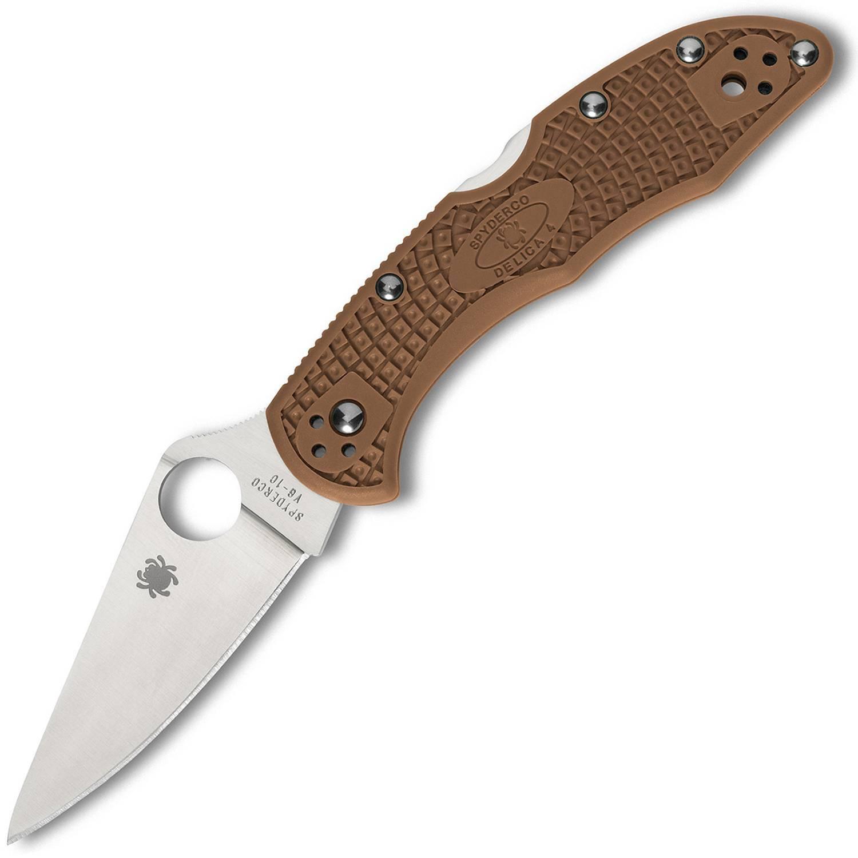 Spyderco Delica 4 Brown