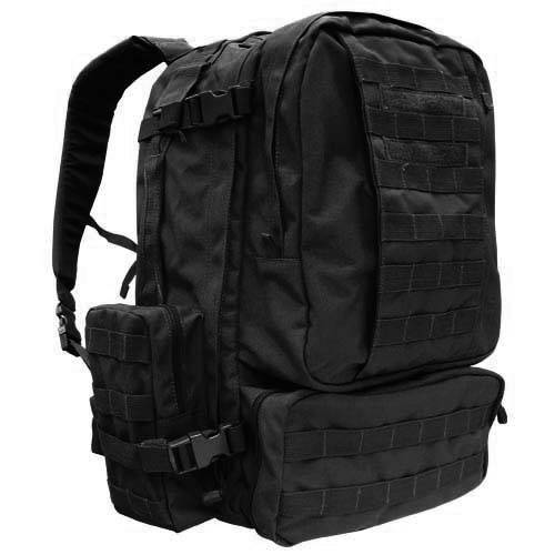 Тактический рюкзак Condor Outdoor 3-Day Assault Pack Black 125-002