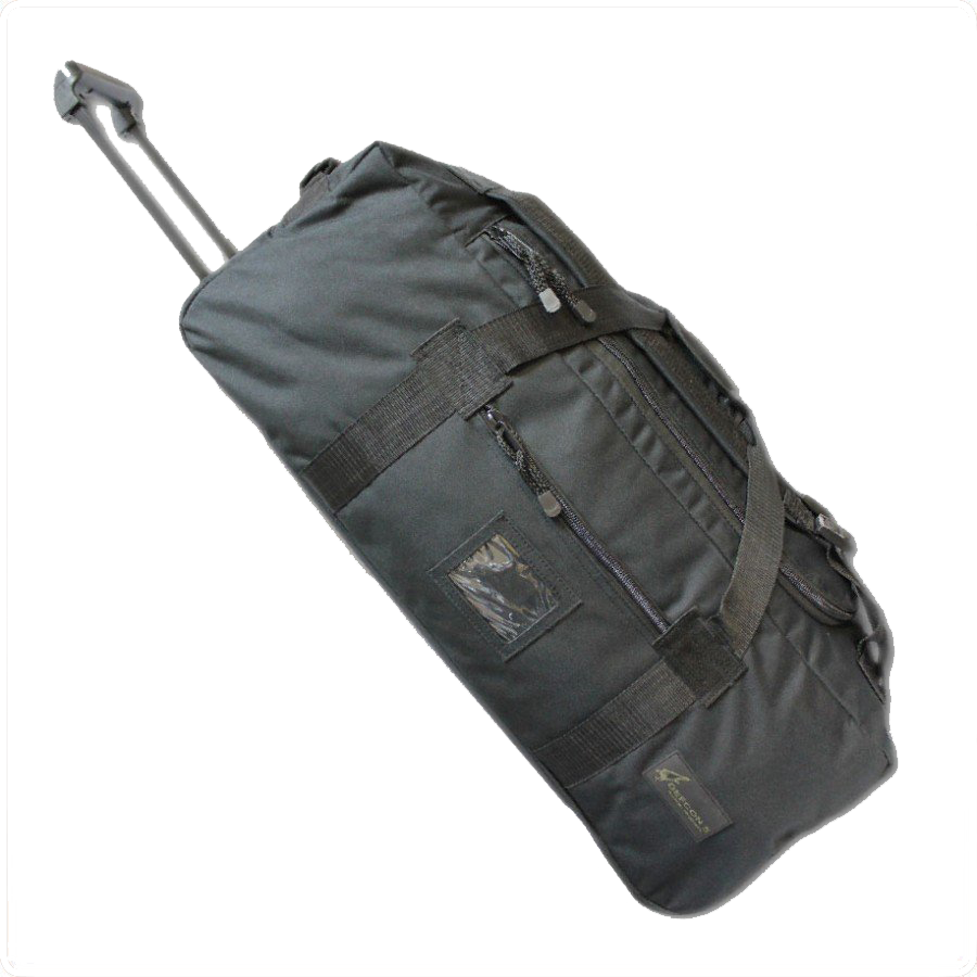 Дорожная сумка Defcon 5 Trolley Travel Bags Black