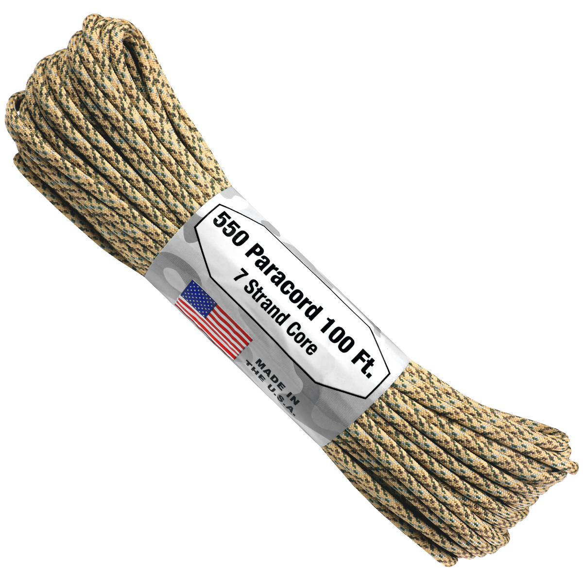 Paracord Atwood Rope MFG 550 Desert Camo
