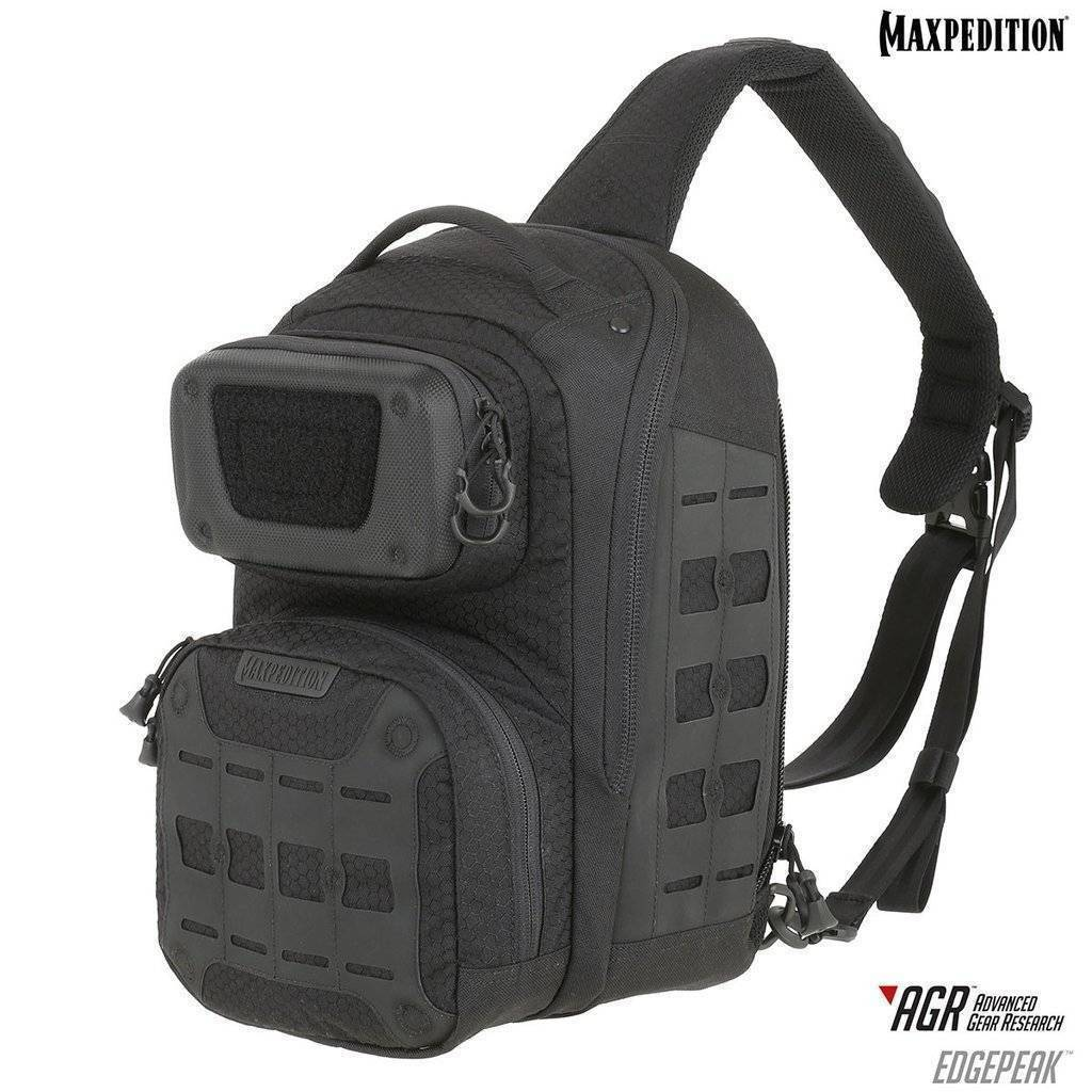 Maxpedition Edgepeak™ Ambidextrous Sling Pack Black
