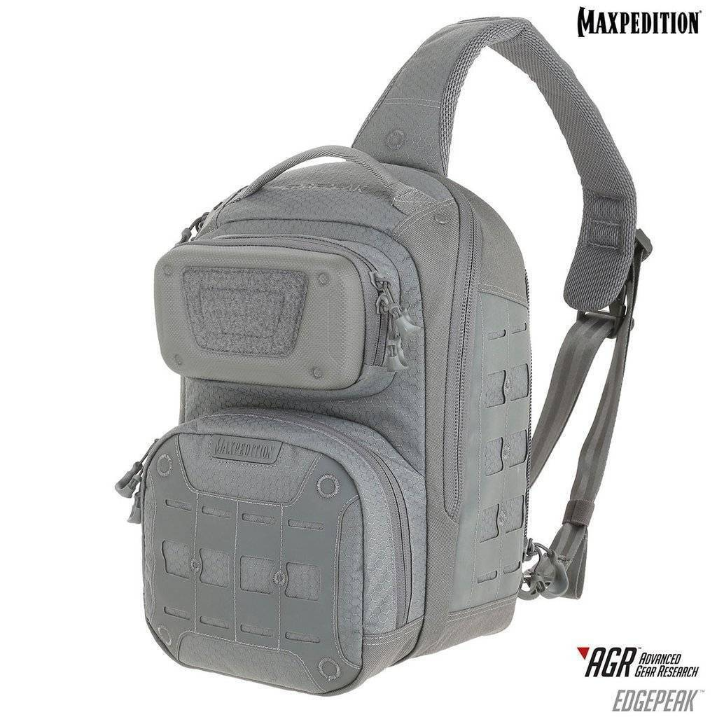 Maxpedition Edgepeak™ Ambidextrous Sling Pack Gray