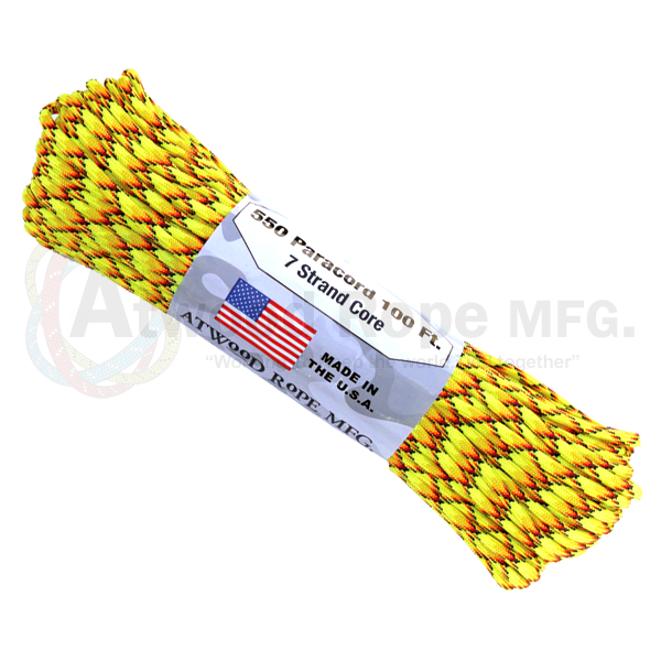 Paracord Atwood Rope MFG 550 Explode