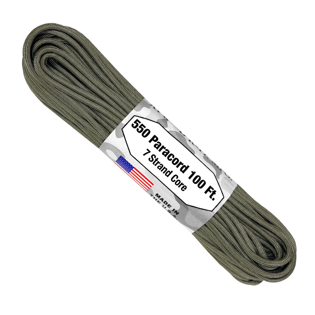 Paracord Atwood Rope MFG 550 Foliage Green
