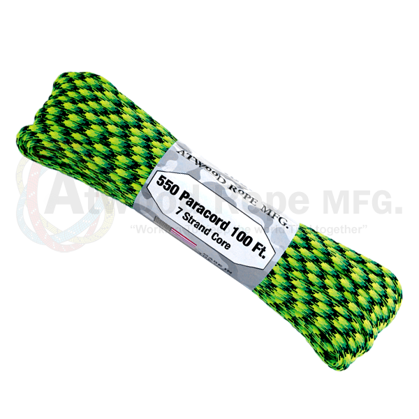 Paracord Atwood Rope MFG 550 Gecko