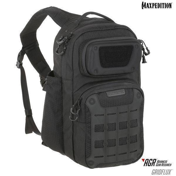 Maxpedition Gridflux™ Ergonomic Sling Pack Black