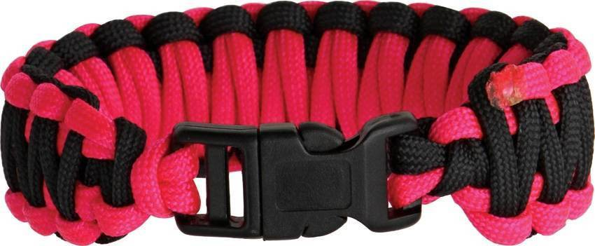Knotty Boys Fat Boy Survival Bracelet Pink