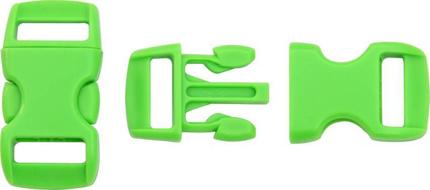 Фастекс Knotty Boys Buckle Neon Green KYBZ05NG