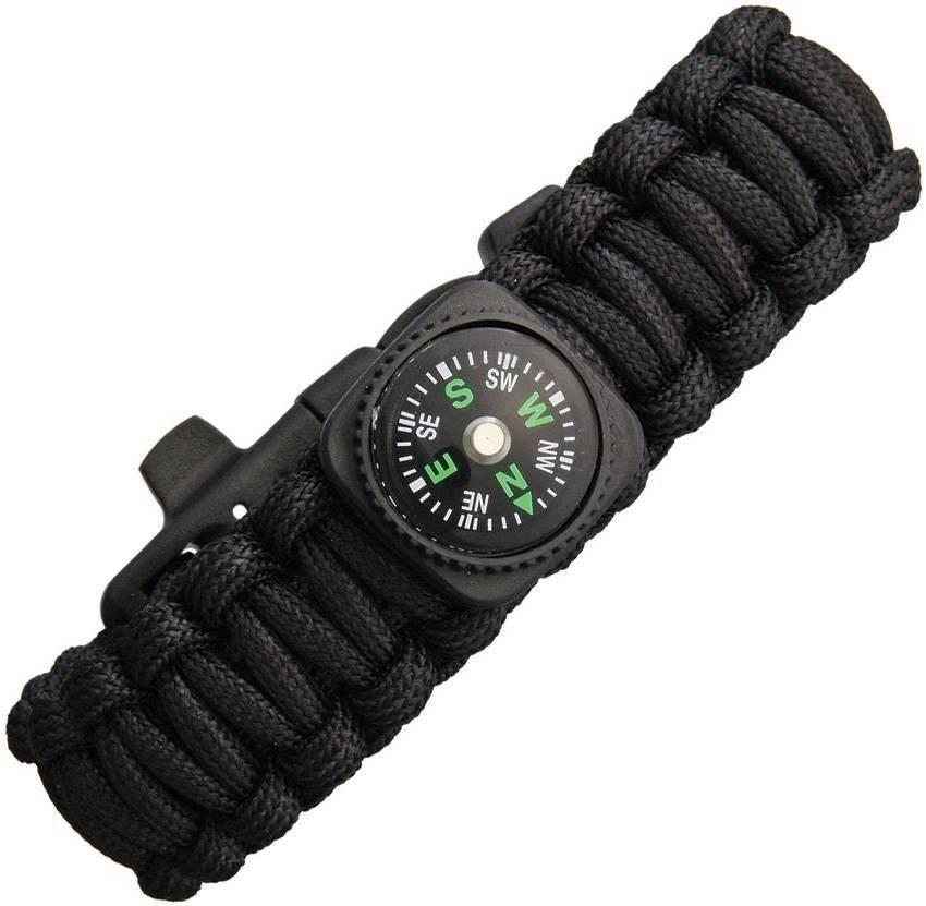 Браслет из паракорда Knotty Boys Survival Bracelett With Compass (Medium)