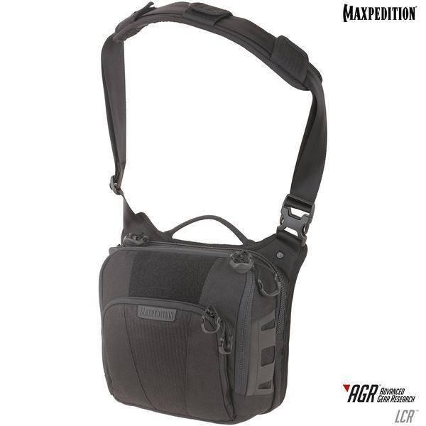 Maxpedition Lochspyr™ Crossbody Shoulder Bag Black