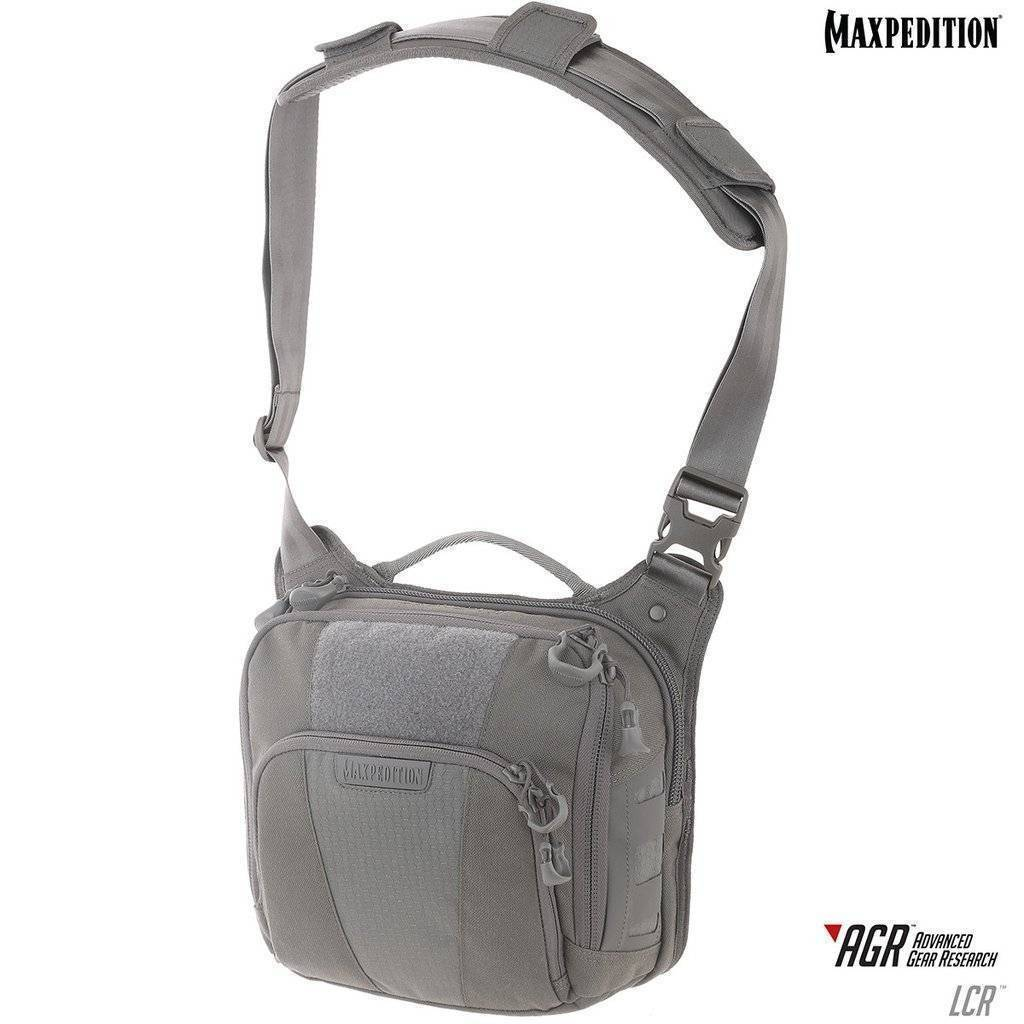 Maxpedition Lochspyr™ Crossbody Shoulder Bag Gray