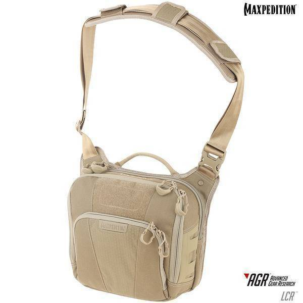 Maxpedition Lochspyr™ Crossbody Shoulder Bag Tan